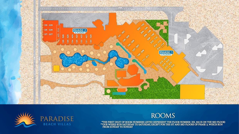 PBV Room Map